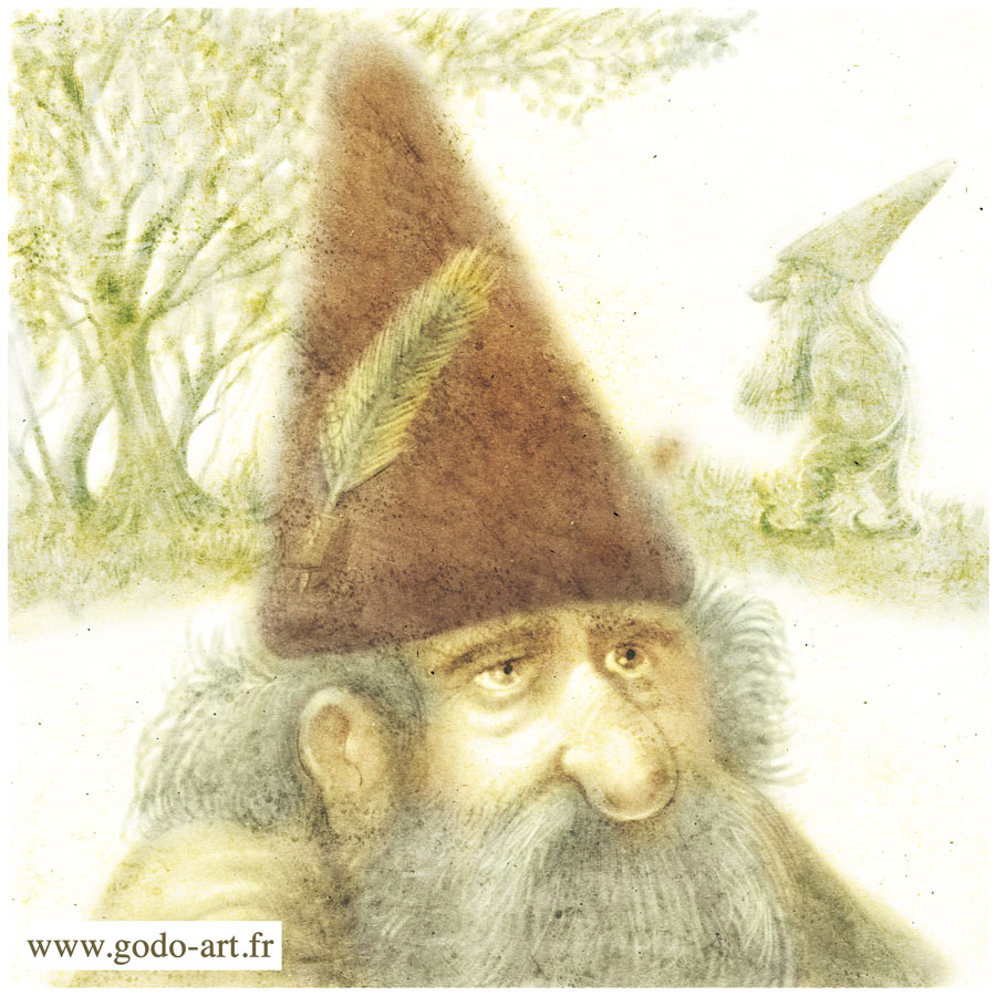 illustration de gnome