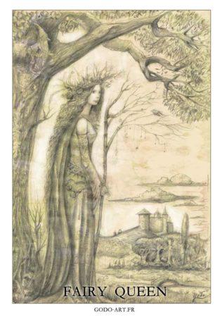 dessin de la reine des fées