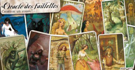 jeu de carte oracle fées et faillettes
