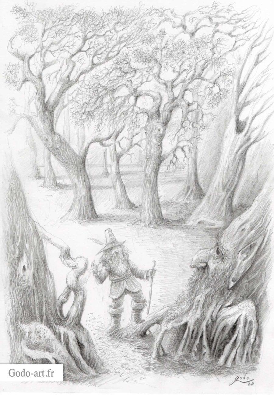 dessin de tom bombadil
