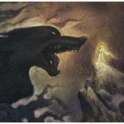 loup geant éteignoir