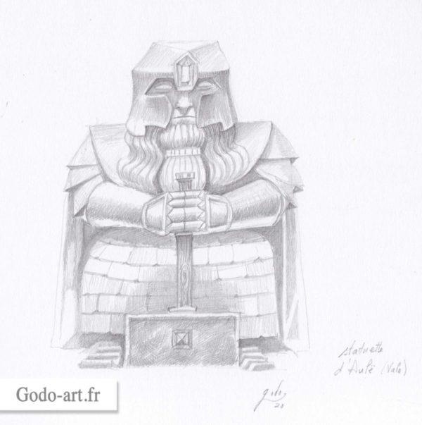 statuette d'Aulë le Valar